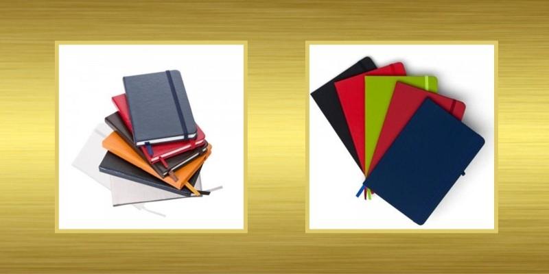 Caderneta Tipo Moleskine Personalizada