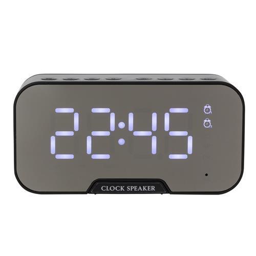 Caixa de Som com Relógio Personalizada