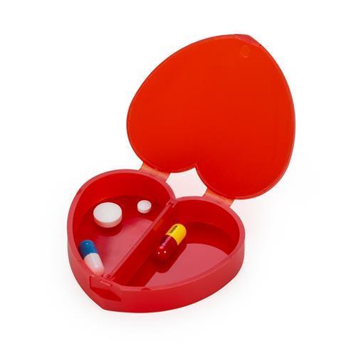 Porta Comprimido Coração Personalizado