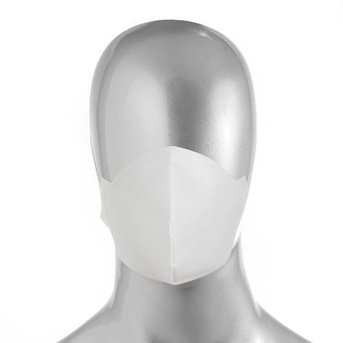 Máscara Descartável TNT Duplo com Clipe Nasal