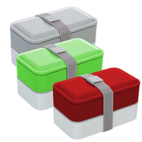 Marmita Plástica 2 Compartimentos Personalizada