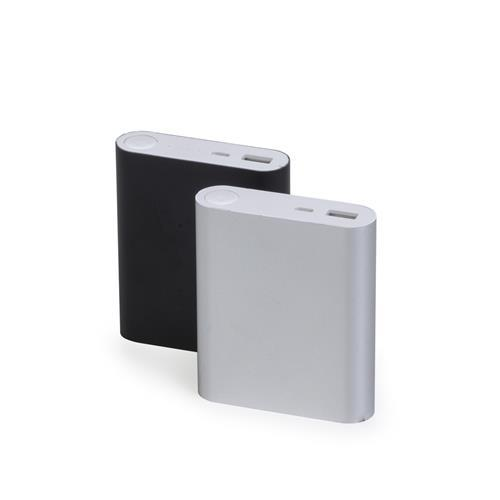 Carregador Power Bank Metal Personalizado