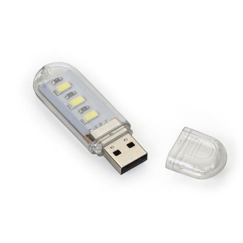 Luminária USB com Led Personalizada