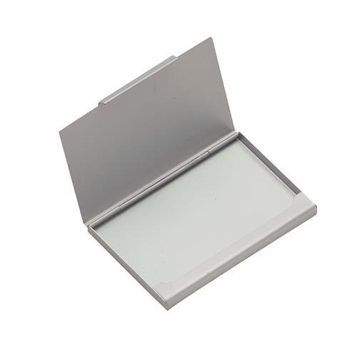 Porta Cartão Alumínio Fosco Personalizado