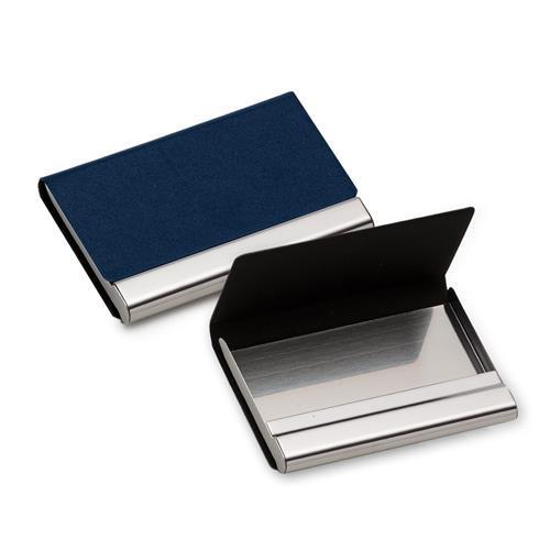 Porta Cartão Couro e Metal Personalizado