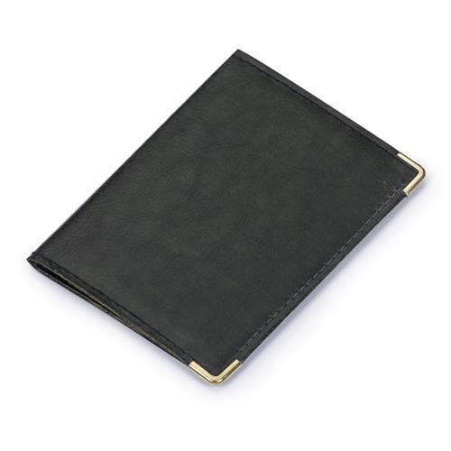 Porta Documentos Preto Personalizado
