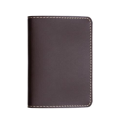 Porta Passaporte Marrom Personalizado