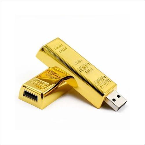 Pen Drive Barra de Ouro